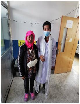 受伤后手部无供血已 1 小时 延安大学附属医院援藏团队火速救治