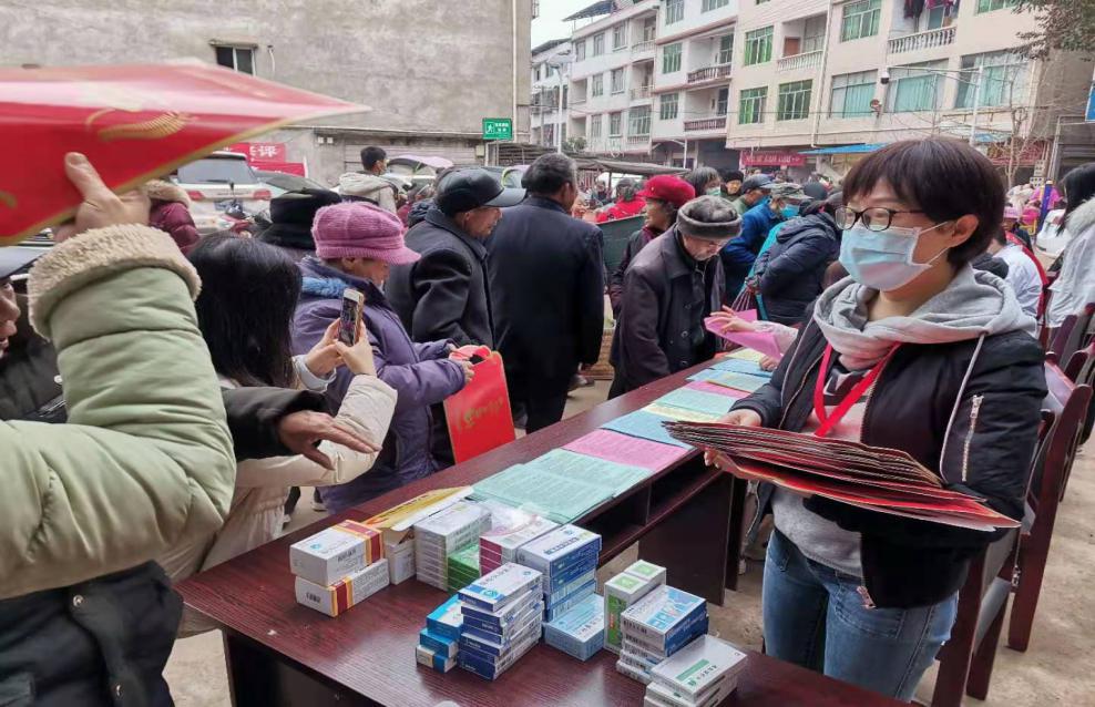 岳池县人民医院开展「人民阅卷·广安行动」五个一活动