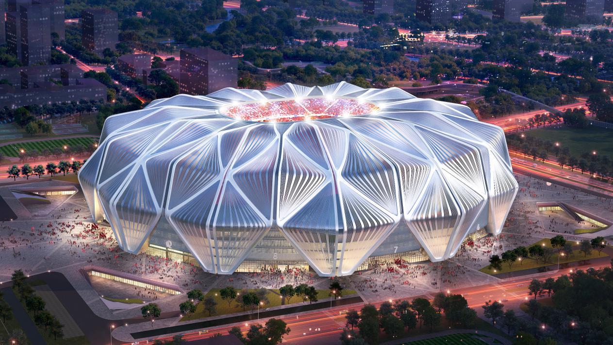 恒大足球场设计方案出炉 绝美造型亮相背后