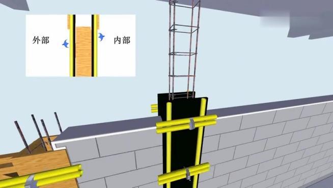 砌体结构施工工艺动画模拟,BIM动画可下载!