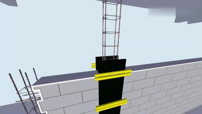 砌体结构施工工艺动画模拟