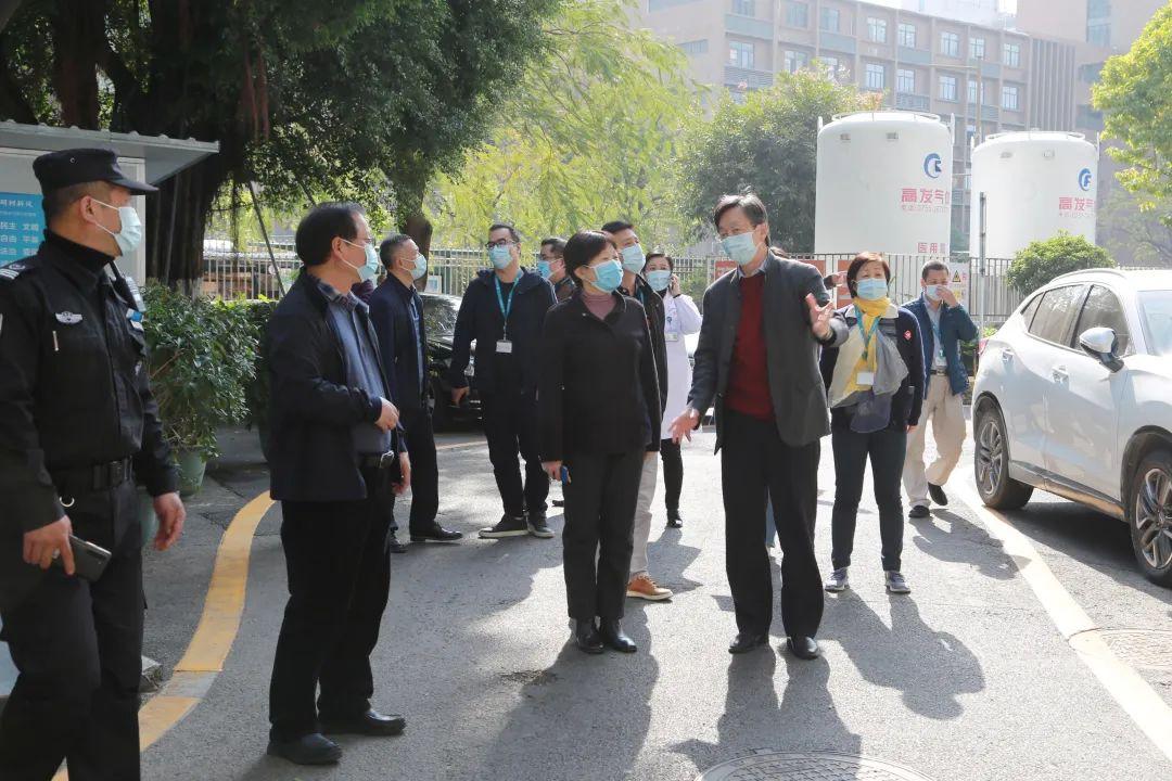 深圳市卫健委领导莅临深圳市妇幼保健院开展节前疫情防控及安全生产检查