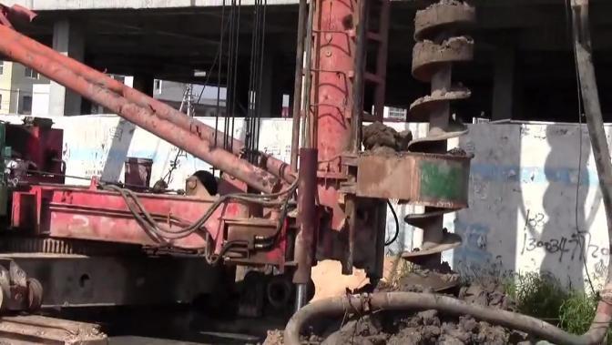 2011年实训成果视频——护坡桩施工工艺