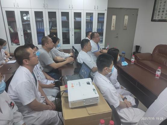 西安市中医医院影像科开展下临床交流活动