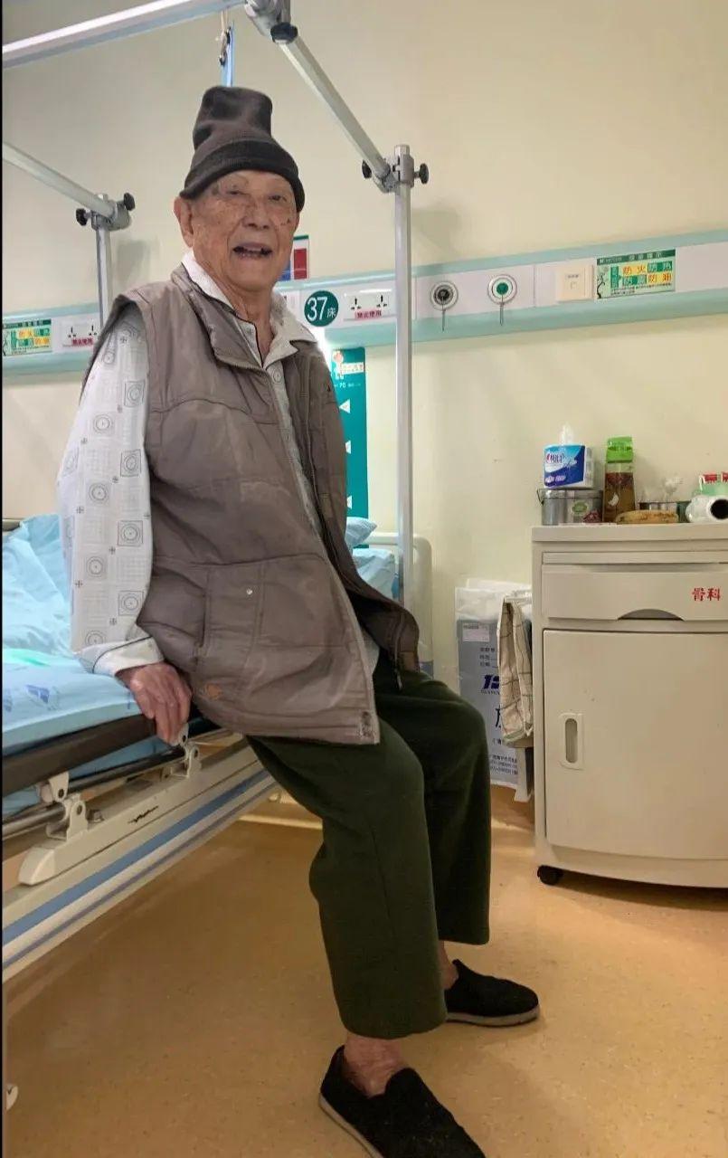 骨折后快速康复,这位高龄老人练了「绝世武功」?