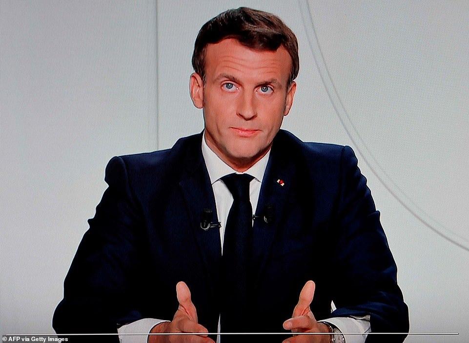 马克龙宣布法国将再次封国 蔓延速度连别悲观者都想象不到