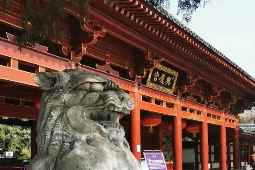 你的兴庆宫公园记忆被收藏了吗?