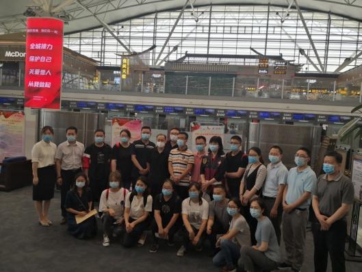 延安大学附属医院检验人员圆满完成援京核酸检测任务