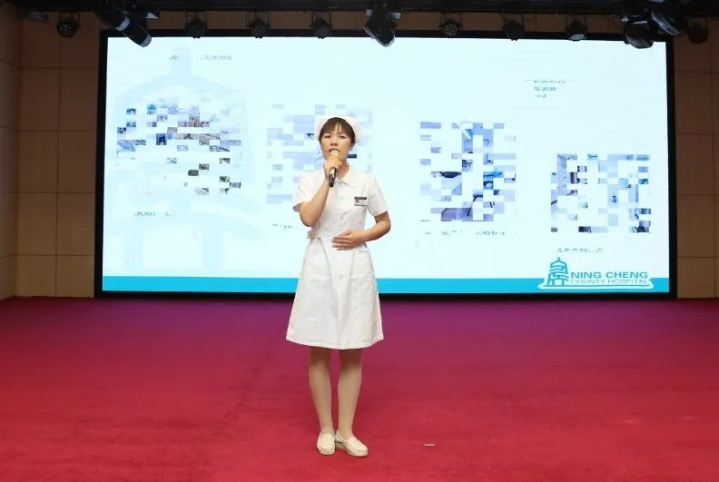宁城县中心医院举办庆祝「5.12」国际护士节系列活动之主题演讲比赛