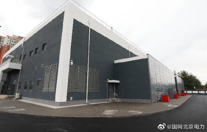 岳各庄220千伏输变电工程正式投产送电