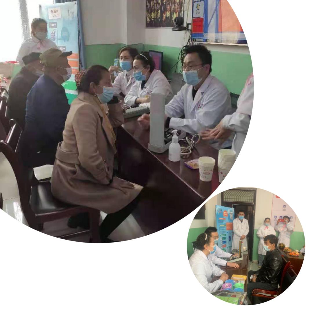 喀什地区第一人民医院「万名医师下乡义诊」活动伽师县小记