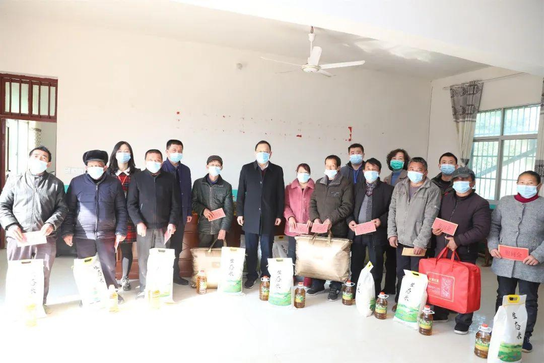 江西省儿童医院走访慰问定点扶贫村