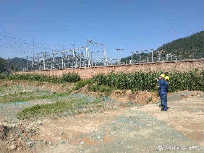 国网延安供电公司针对330kV延安变进行综合改造