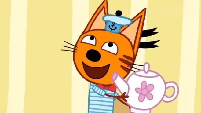 3-8岁儿童教育动画片 有礼貌的小猫咪