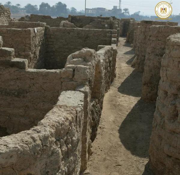 """天悦登录埃及""""失落的黄金城""""重见天日 已有3000年历史"""