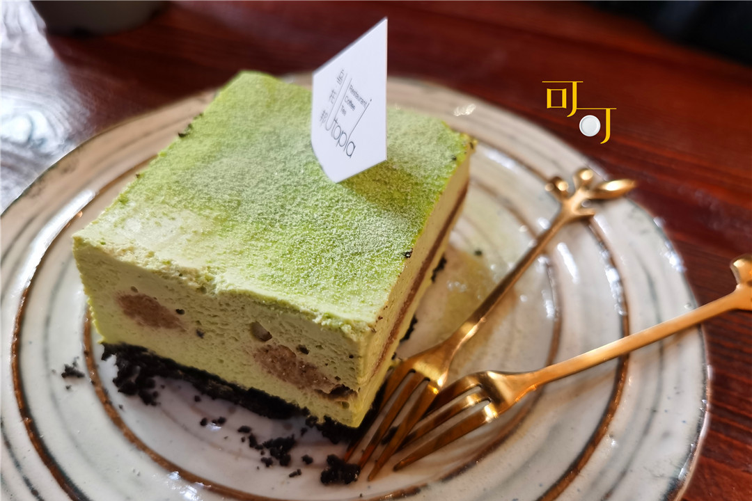 周末逛宁波帮博物馆,太冷了,喝杯咖啡吃块蛋糕暖和一下