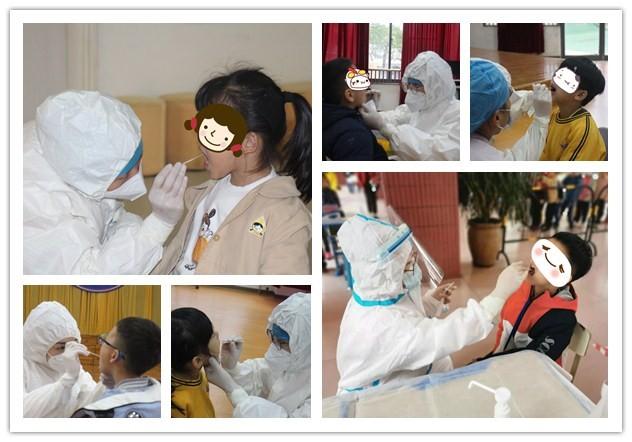 助力复学,专业服务,莲花医院累计为1万余名师生完成核酸采集检测工作