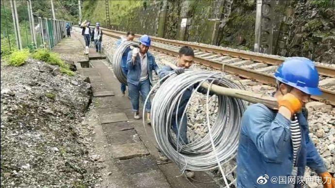 徒步10余公里紧急抢修保供电