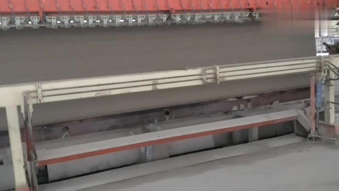 加气混凝土砌块生产工艺流程之规格尺寸切割