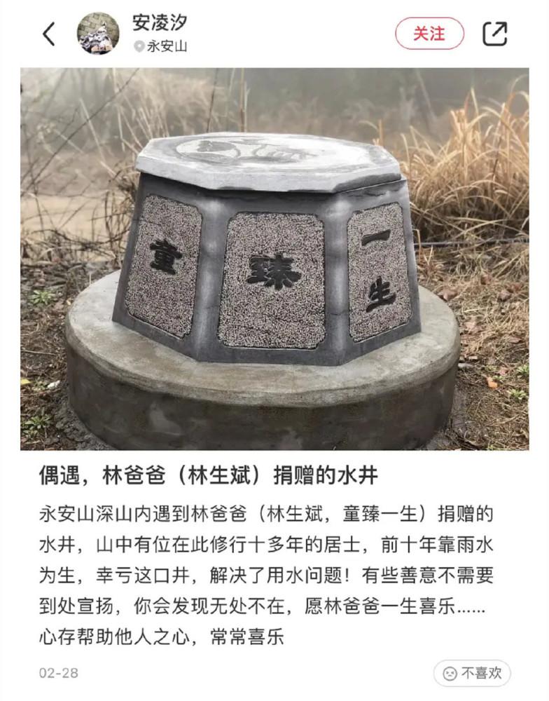 林生斌给老婆建造的井是镇魂井吗 潼臻一生为什么要去掉三点水叫童臻一生