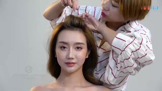 新娘妆培训新娘造型化妆视频教程视频