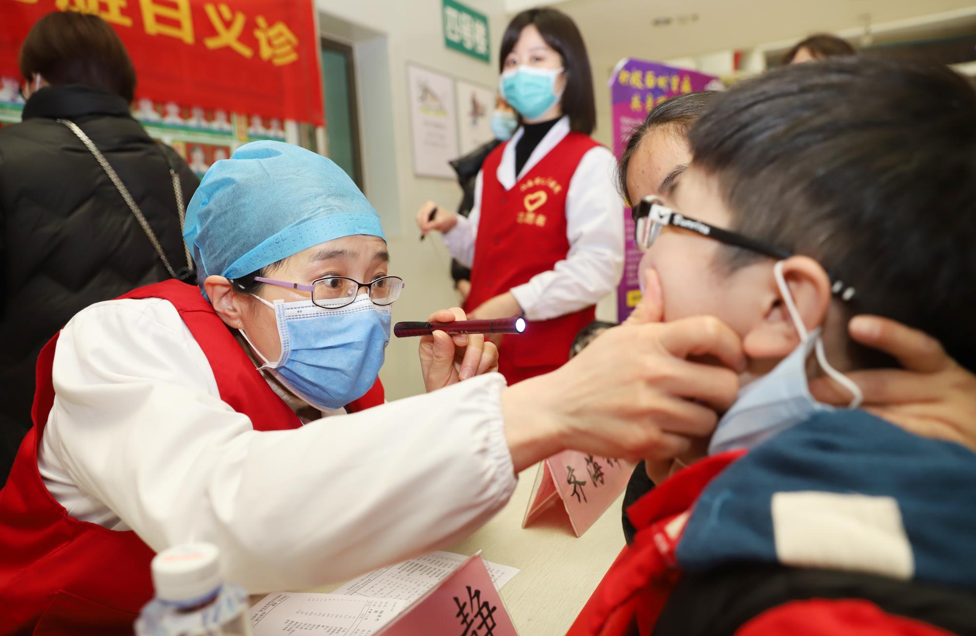 江西省儿童医院开展世界肾脏日义诊活动,呵护儿童肾脏健康