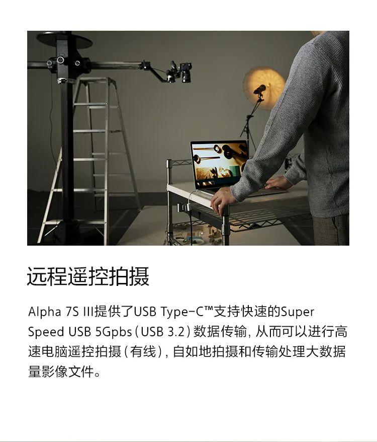 索尼全画幅微单Alpha 7S III