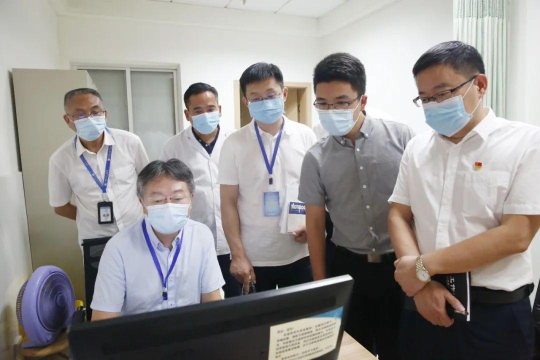 常德市第四人民医院迎接全省首批县域三级综合医院信息化应用评审
