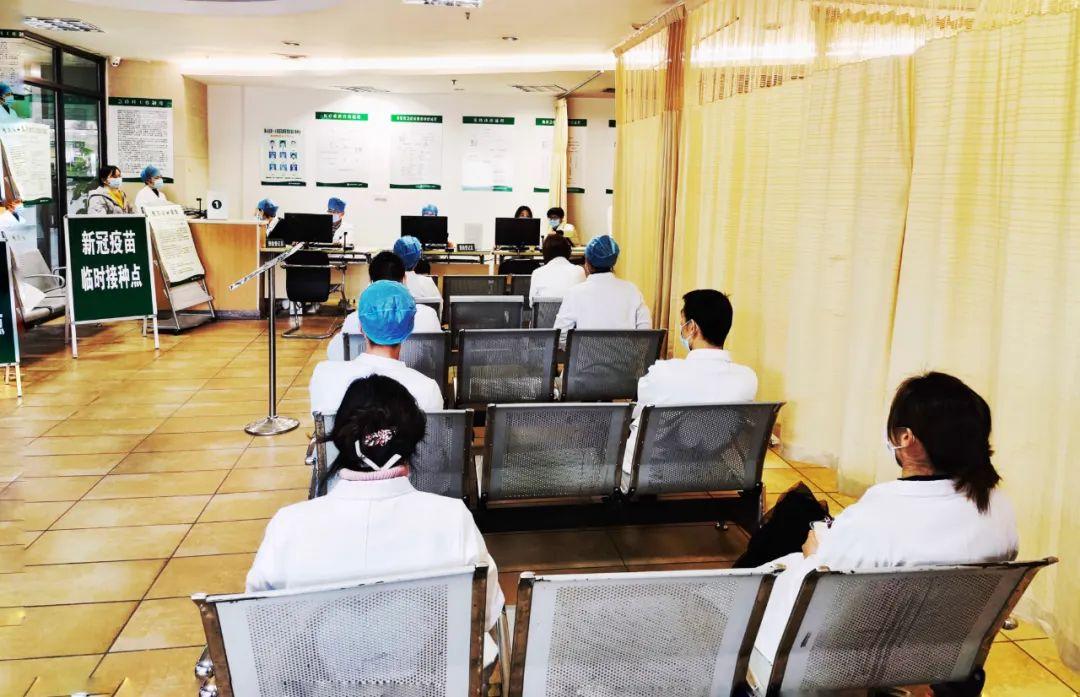 杭州市萧山区第一人民医院有序开展新冠疫苗接种工作
