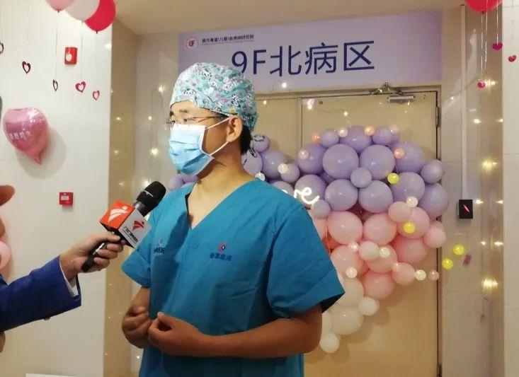 上海公安叔叔捐献造血干细胞救助的白血病患者顺利出仓