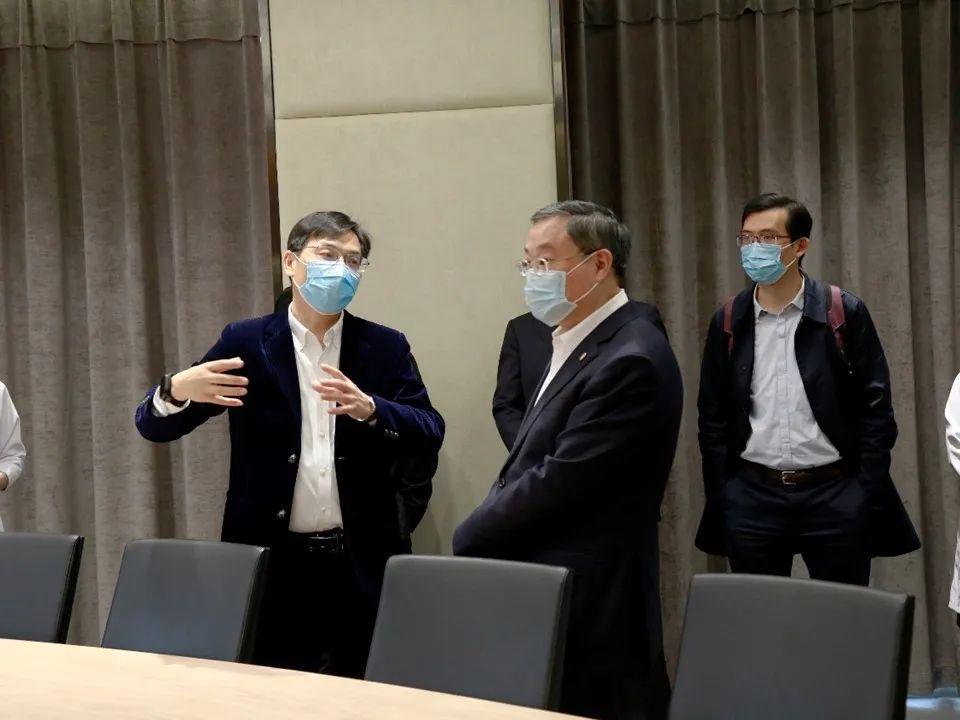 上海大学与合肥京东方医院联动合作 共谋发展