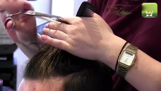 头发护理教学