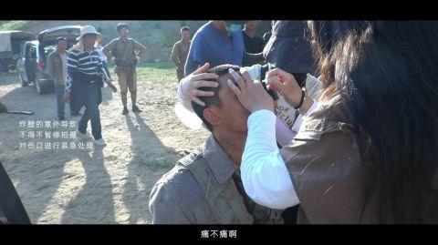 《我和我的父辈》吴磊拍马战炸伤脸 吴磊这部戏怎么受伤的