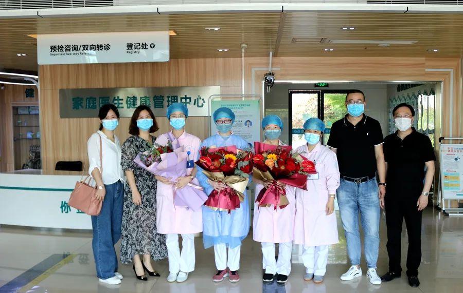 萧山区副区长陈琴箫一行来萧山区中医院慰问白衣天使