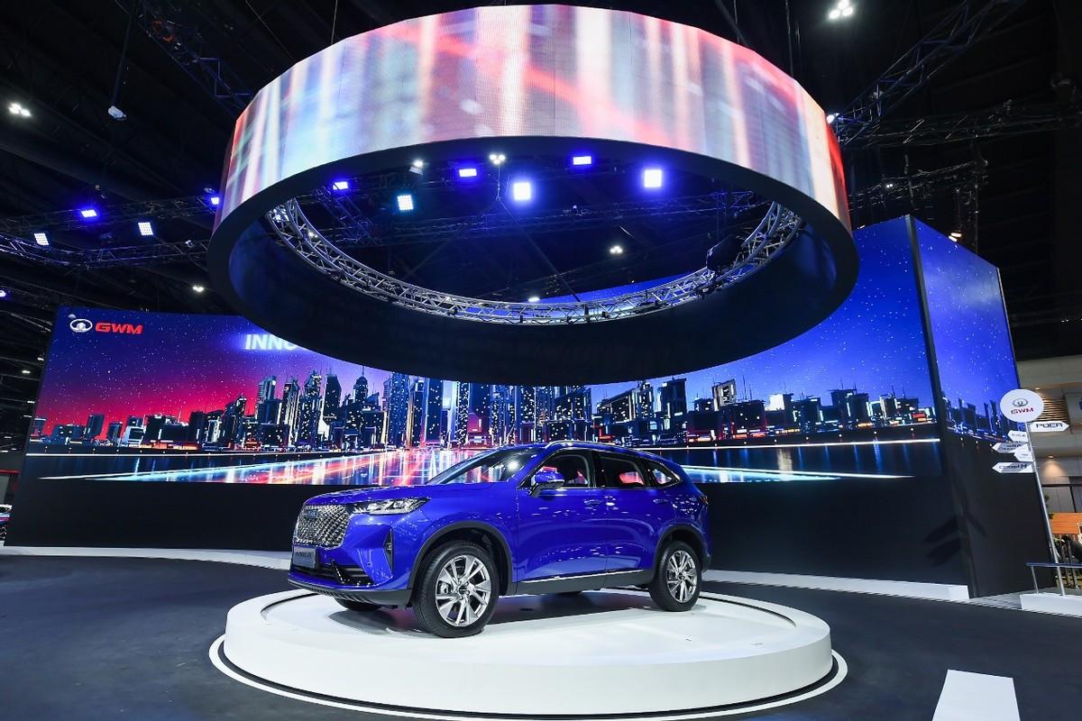 长城汽车加码泰国市场,多款重磅车亮相,H6 HEV首发