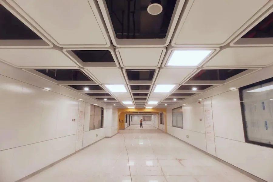 光雅园站出入口分布示意图