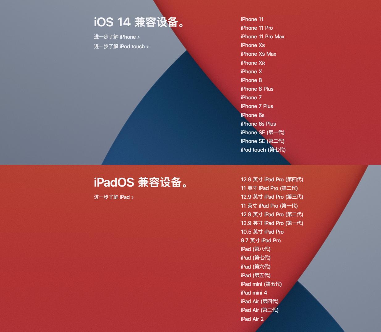 iOS 14正式版来了,可升级型号很全,但我不建议现在升级!