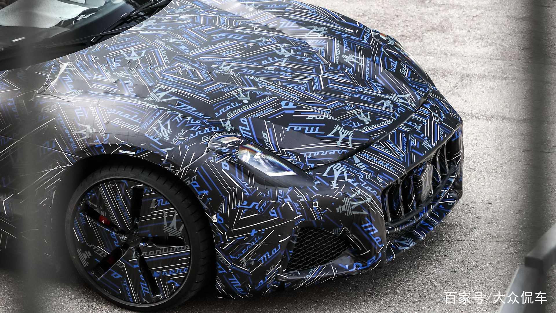 将成为该品牌的首款电动车,全新玛莎拉蒂GT跑车亮相