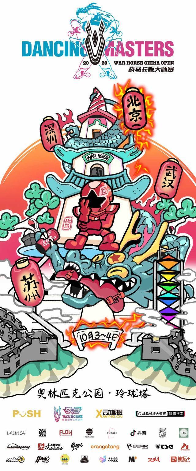 全民健身 活力中国 2020战马长板大师赛北京总决赛开赛