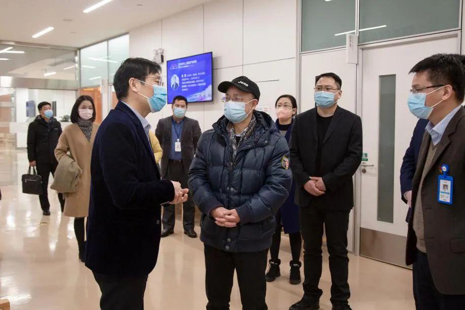 合肥市外事办领导一行来合肥京东方医院调研考察
