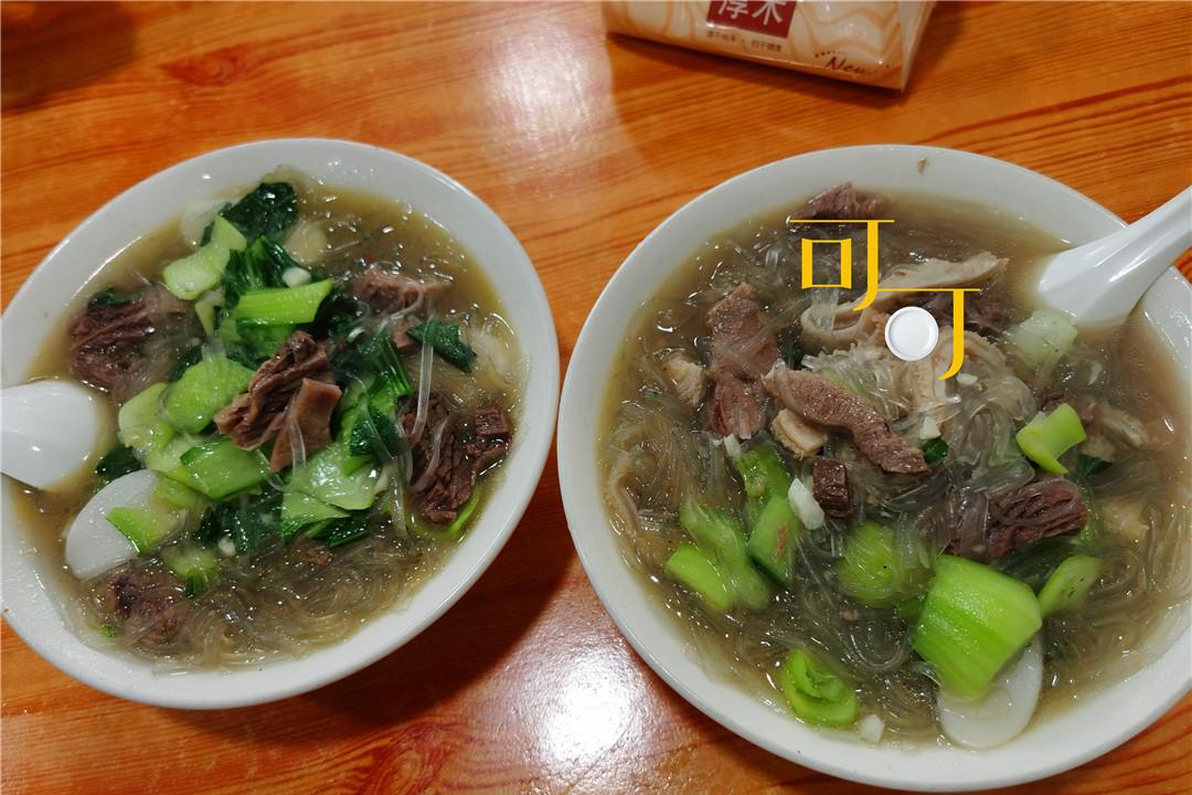 周末去奉化岭丰村看萧王庙,吃一碗牛肉干面,30元起价贵吗?