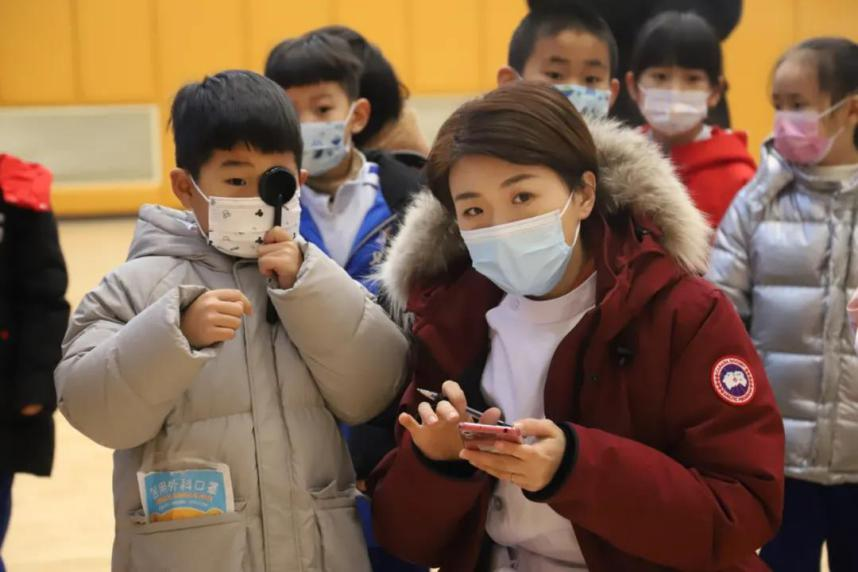 济南市第二人民医院「护瞳行动」圆满完成市中区儿童近视筛查工作