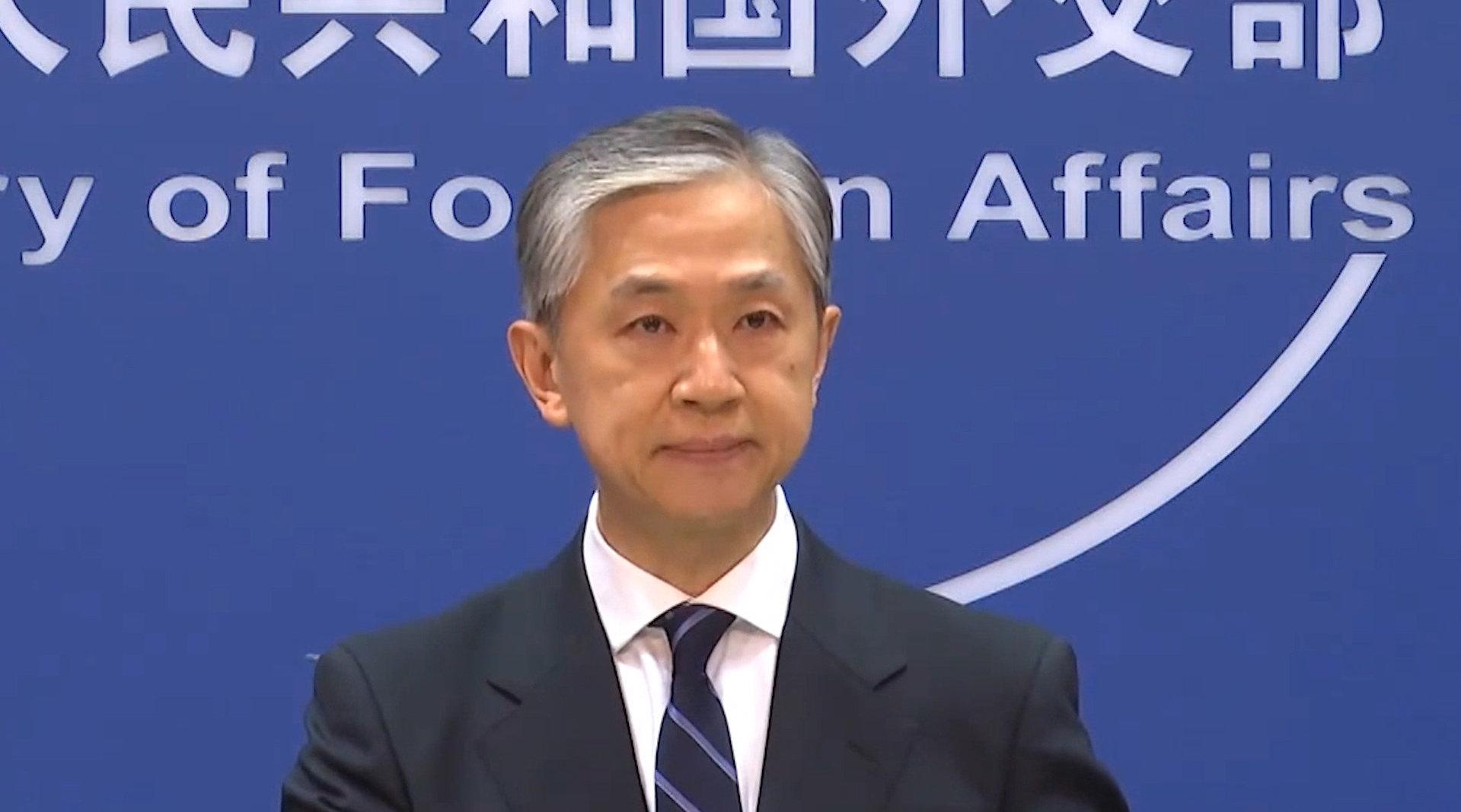 """美领导人称美国将会""""保卫台湾"""",外交部回应"""