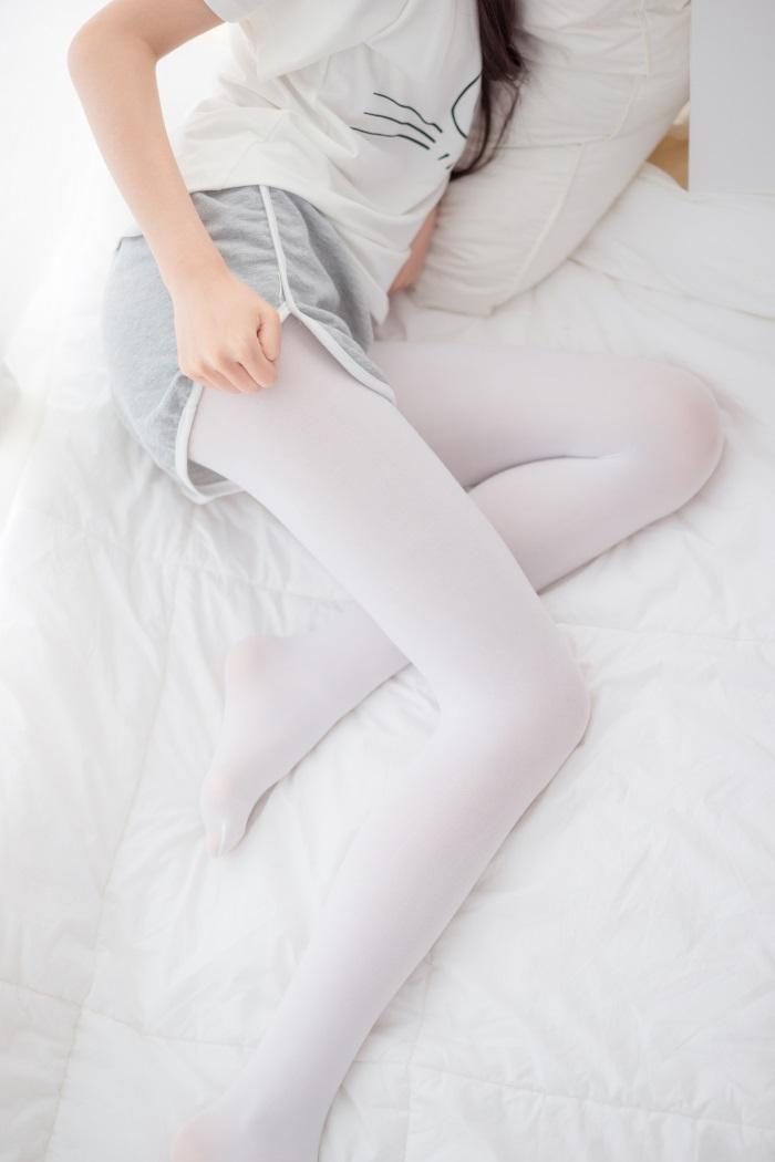 ⭐丝模写真⭐喵写真-Vol.011少女的白丝袜[90P/399MB]插图