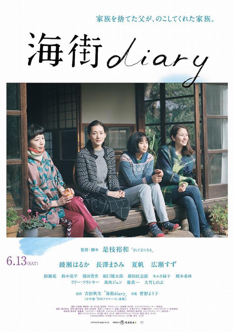 【电影观后感】是枝裕和《海街日记》:多美的樱花,多棒的人生