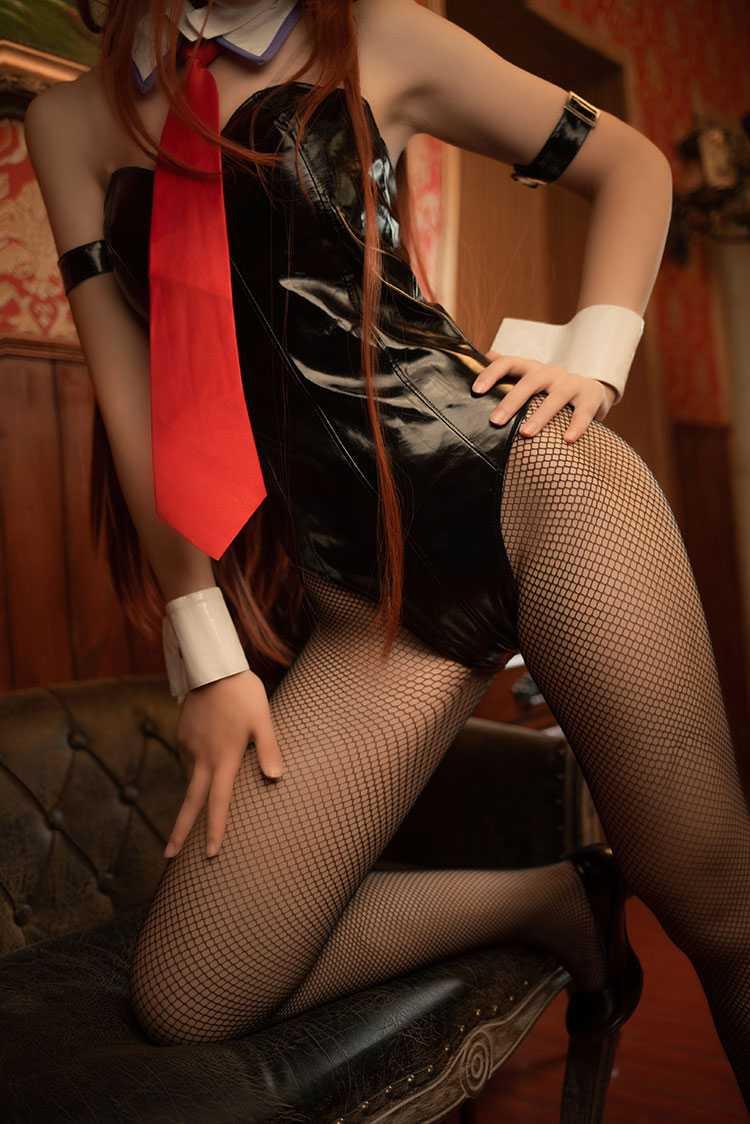 ⭐cos套图⭐逐月su@coser图片-牧濑红莉栖兔女郎27P插图1