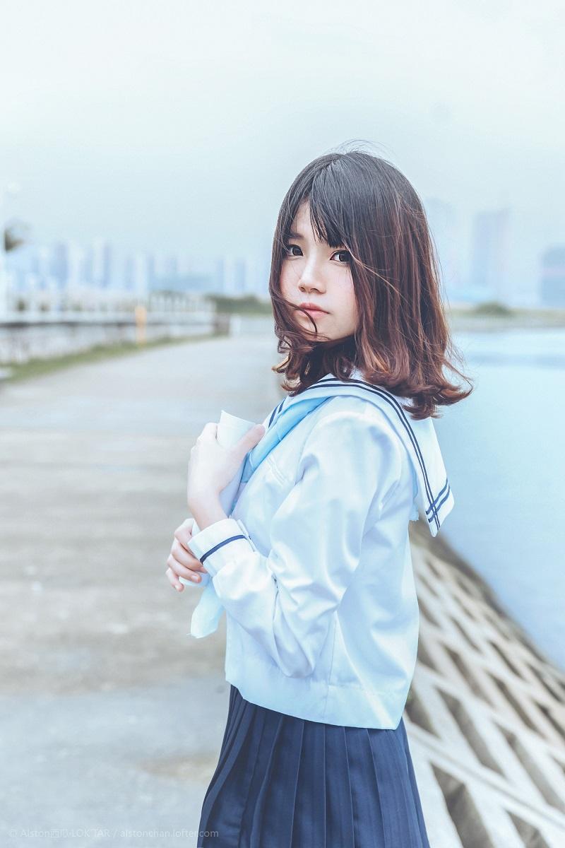 ⭐微博红人⭐桜桃喵@写真cos-風(桜桃喵)【10P/10MB】插图
