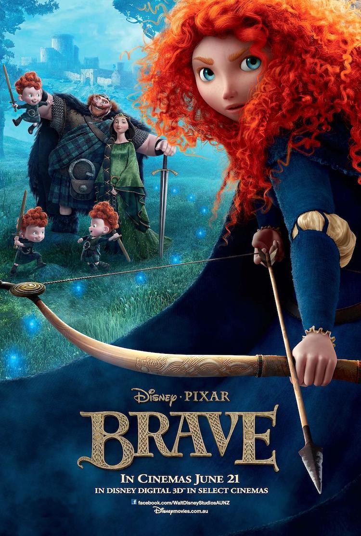 《勇敢传说/勇敢的公主》电影:一部很棒的原创动画童话