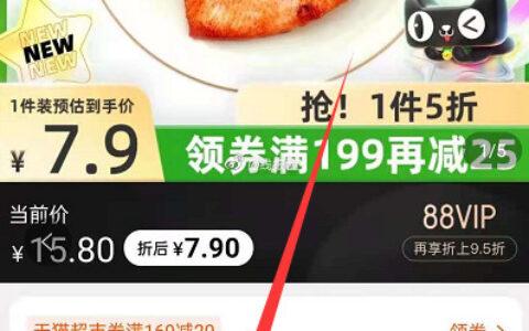 【猫超】四记联洋香煎鸡排100g大鸡排四记联洋香煎鸡排