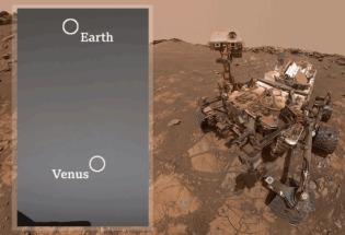 "NASA火星探测3000日:""好奇号""分享红色星球奇异景观"